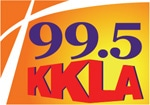 KKLA Radion 99.5 Logo
