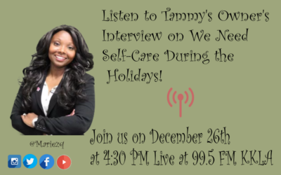 We need Self-Care during the Holidays